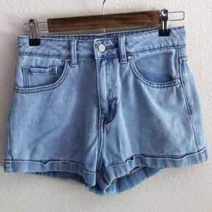 Pacsun Mom Short High Waist Jean Shorts